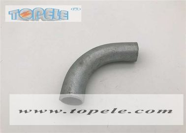 Female Connection BS4568 Conduit Hot Dip Galvanized Malleable Iron Solid Elbow