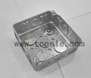 China American Standard Metal Electrical Boxes And Covers 4x4 52151 / 52161 / 52171 factory