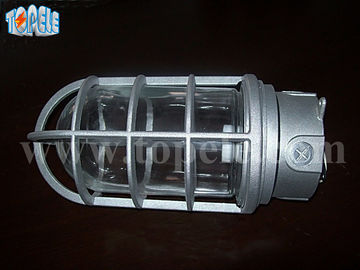 IP65  Led Vapor Tight Lights Die - Cast Aluminum 4 X 4 X 6.1 Inches