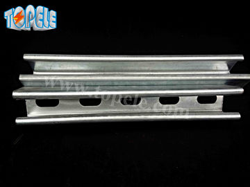 41x41mm Unistrut Channel , 41X21MM Pre-galvanized / Hot Dipped Slotted Strut Channel