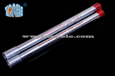 China 20mm , 25mm Galvanized BS4568 Conduit Pipe , Steel Electrical Conduit GI Tube factory