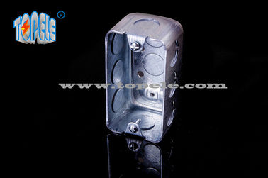 Pre - Galvanized Steel Electrical Boxes And Covers Switch Device Box With CSA