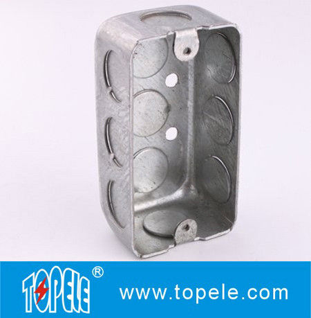 Topele Steel Rectangular Switch Handy Box With Single Gang