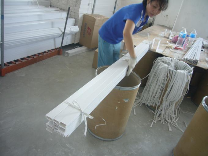 White Grey PVC Electrical Cable Tray Lvd For Wiring Wire Duct