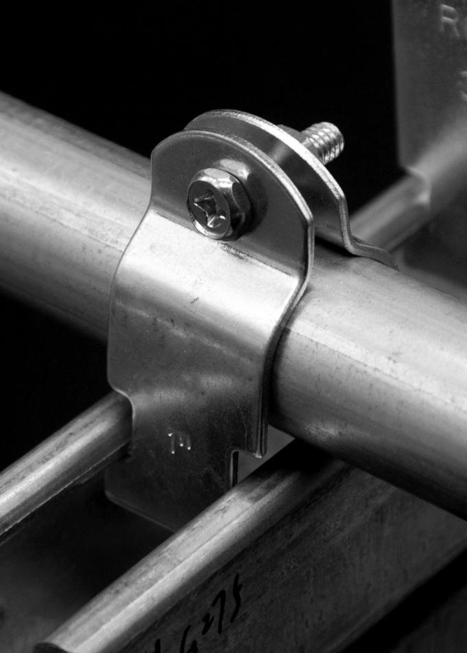Ul steel pipe clamps galvanized strut clamp for rigid