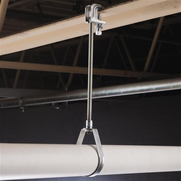Ul standard swivel loop hanger for pipe clmap galvanised